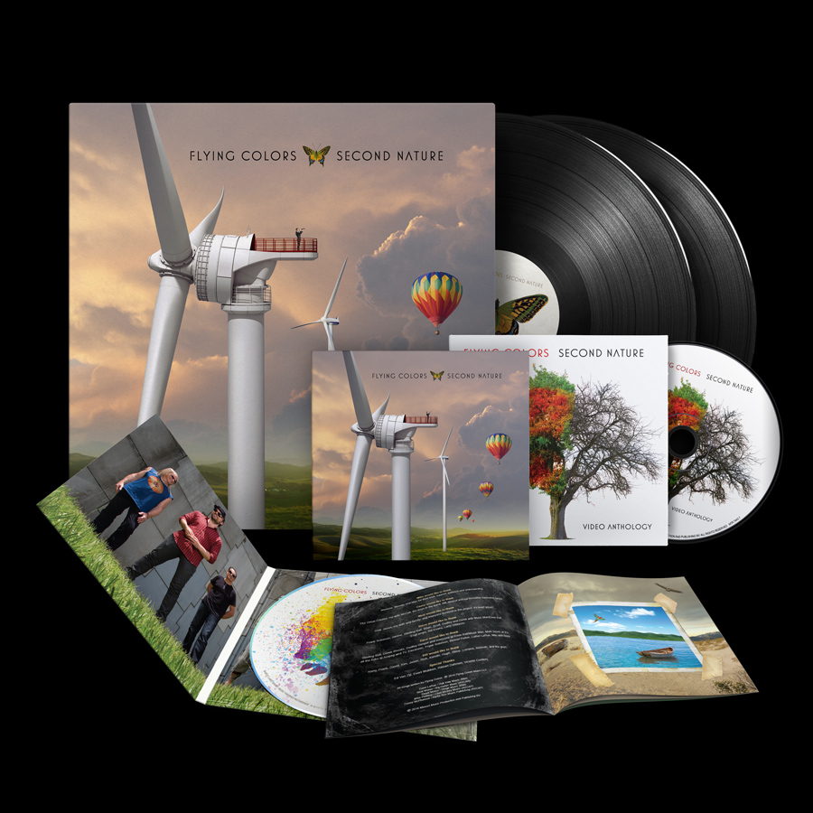 Packshot-FlyingColors_SecondNature-PRD_7443-CD+LP_blk